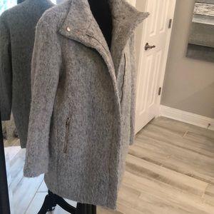 H&M Grey Pea Coat